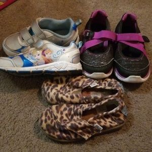 Other - Toddler girl size 8 shoe lot